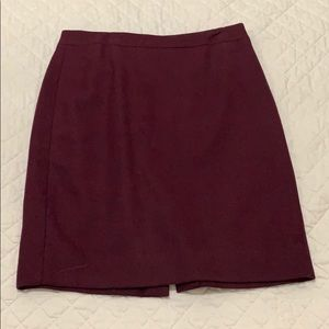 J. Crew Wool Skirt, size 4